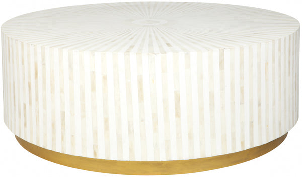 Makayla Bone Inlay Coffee Table - Casa Divano