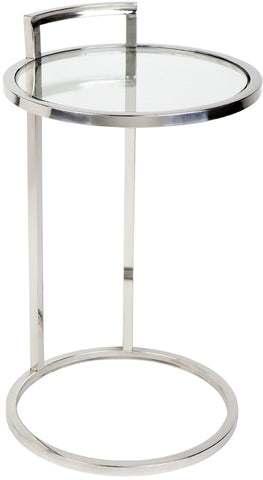 Max Side Table - Chrome - Casa Divano