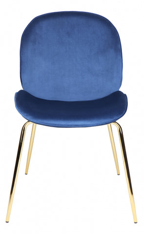 Quill Chair - Blue ( 2 set) - Casa Divano