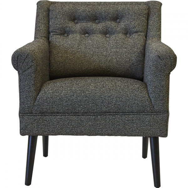 Seattle Arm Chair - BLACK - Casa Divano