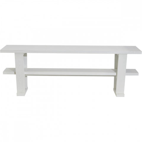 Blaine Console Table - White - Casa Divano