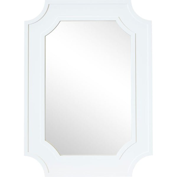 Bungalow Wall Mirror - White - Casa Divano