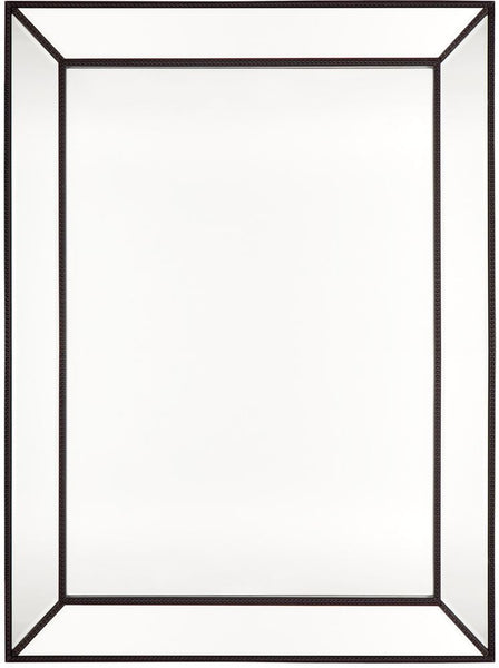 Zeta Wall Mirror - Large Black - Casa Divano