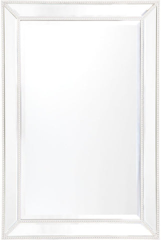 Zeta Wall Mirror - Medium White - Casa Divano