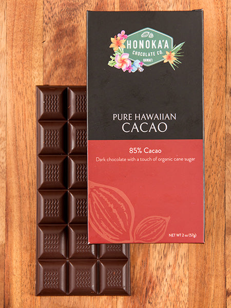 Pure Hawaiian Cacao Bar 85%
