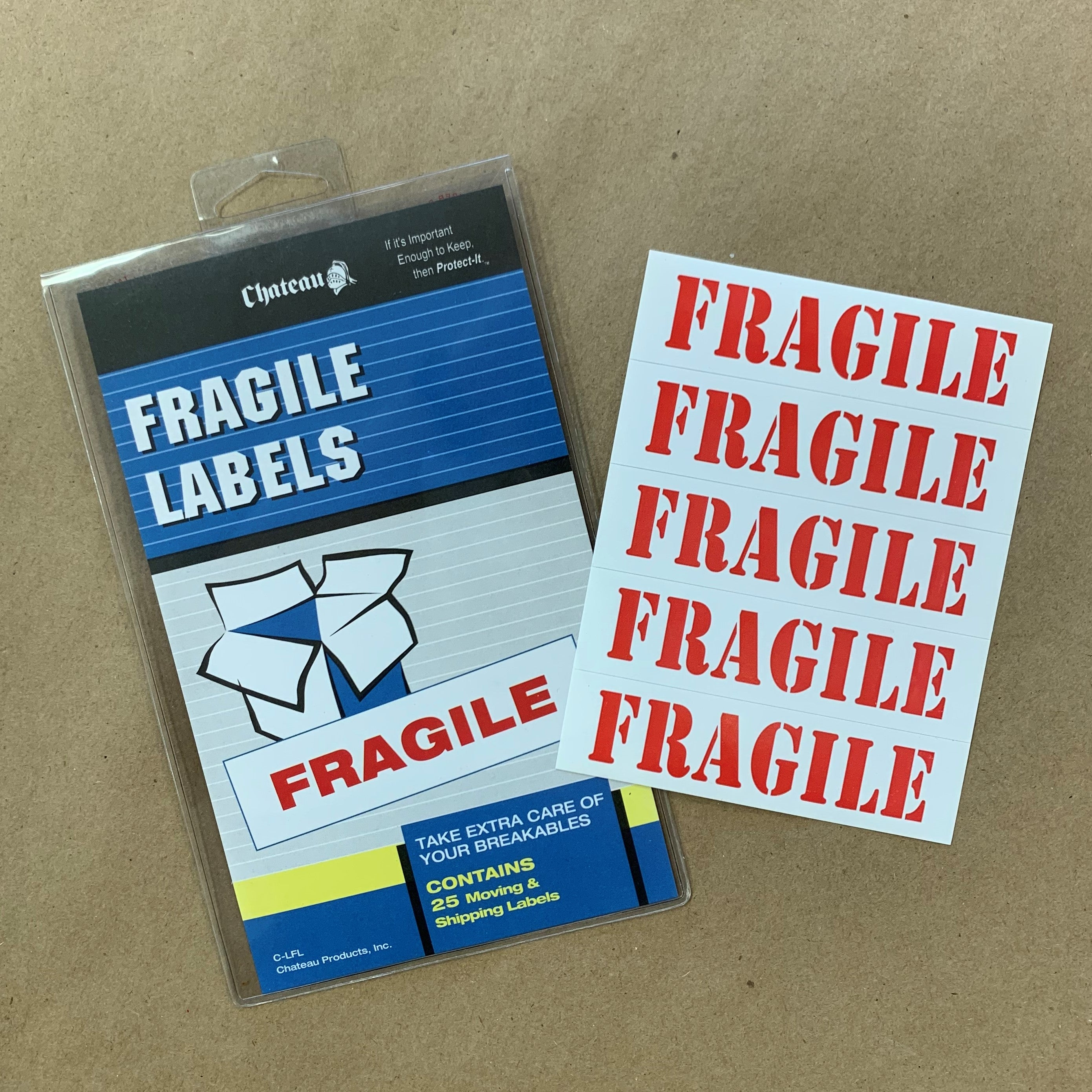 """FRAGILE"" Labels"
