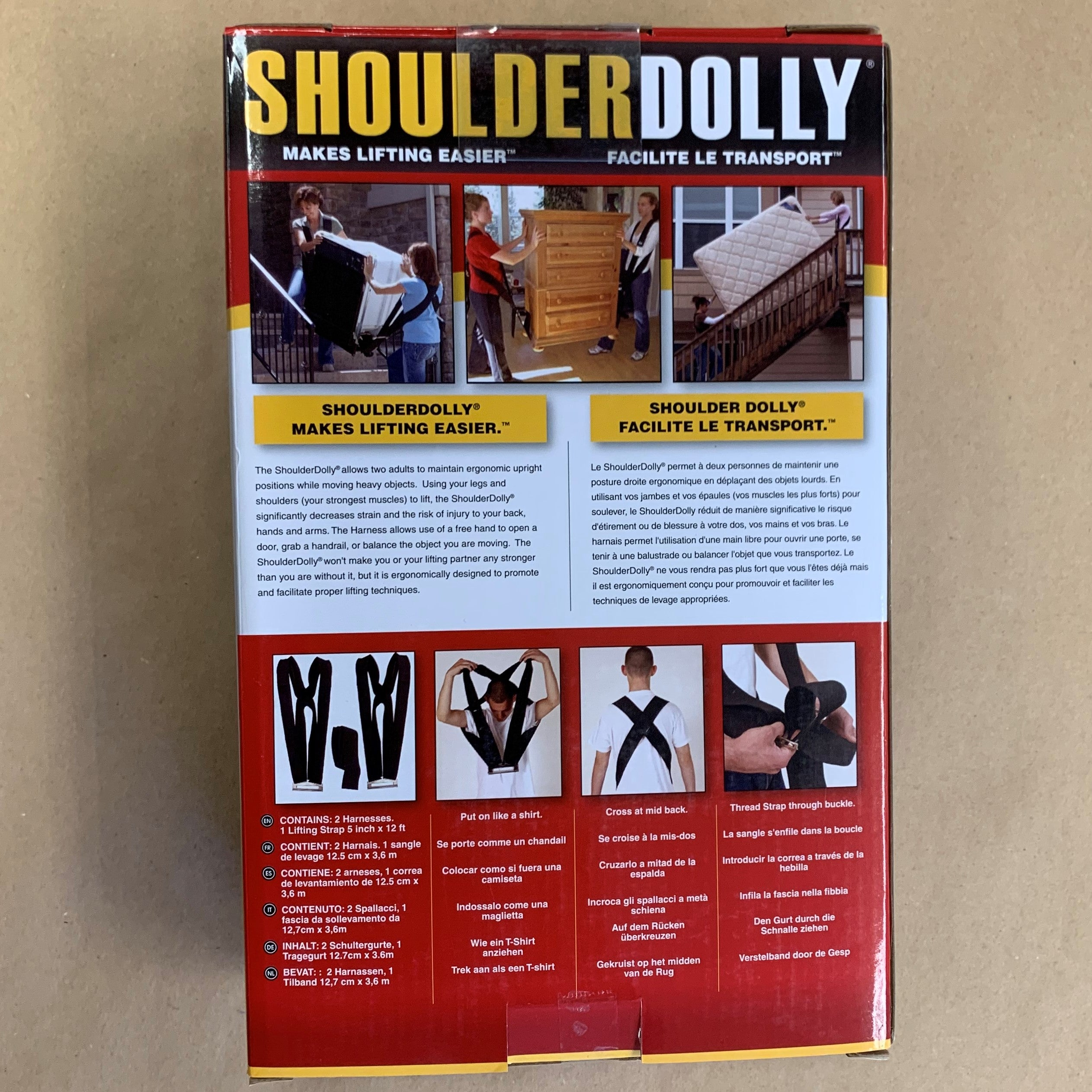 Shoulder Dolly
