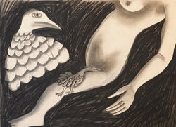 Nude With Birds c.1961