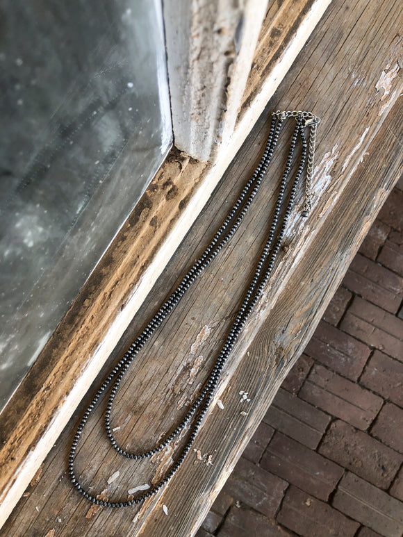 2 Strand Navajo Necklace