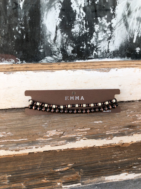 Copper / Cream Navajo Choker