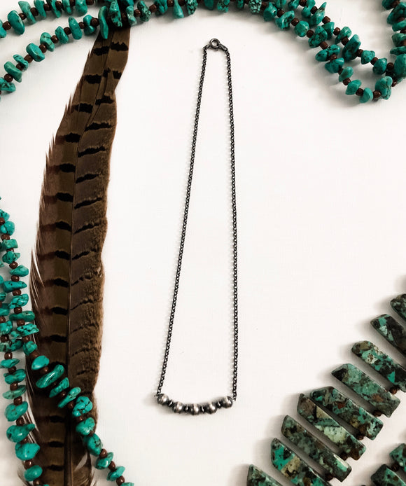 Authentic Navajo Bar Necklace
