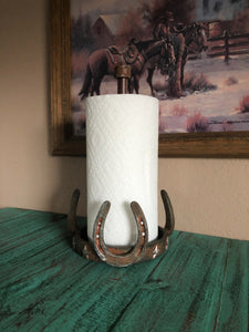 Horse Shoe Paper Towel Holder