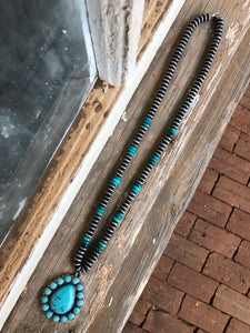 Navajo / Turquoise Pendant Necklace