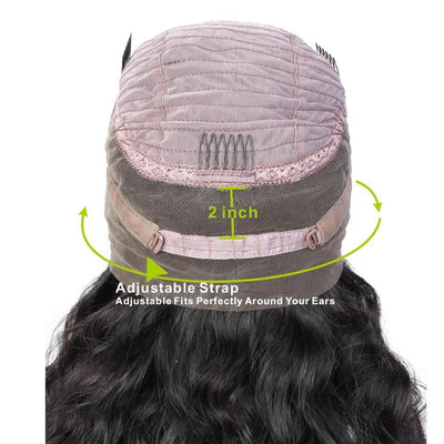 (BIG SALE LAST DAY)—GLUELESS FULL LACE WIG WATER WAVE--(140%)Thick As Video