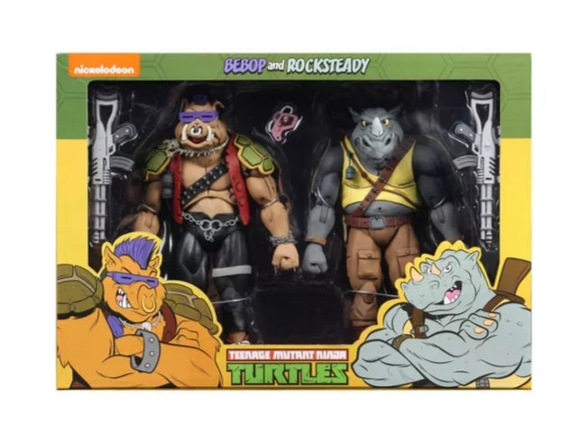 Neca TMNT - Rocksteady & Bebop Action Figure 2-pack