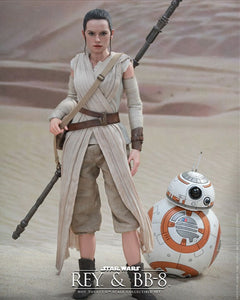 Hot Toys Star wars The Force Awakens - Rey BB8 figures set