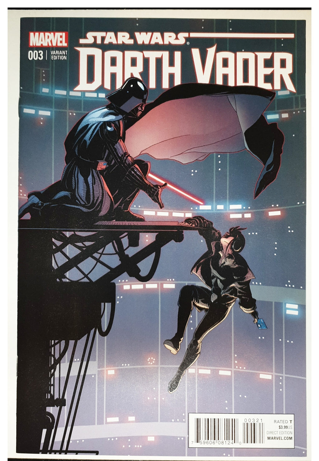 Star Wars Darth Vader #3 1:25 Larroca Variant 1st Appearance of Doctor Aphra