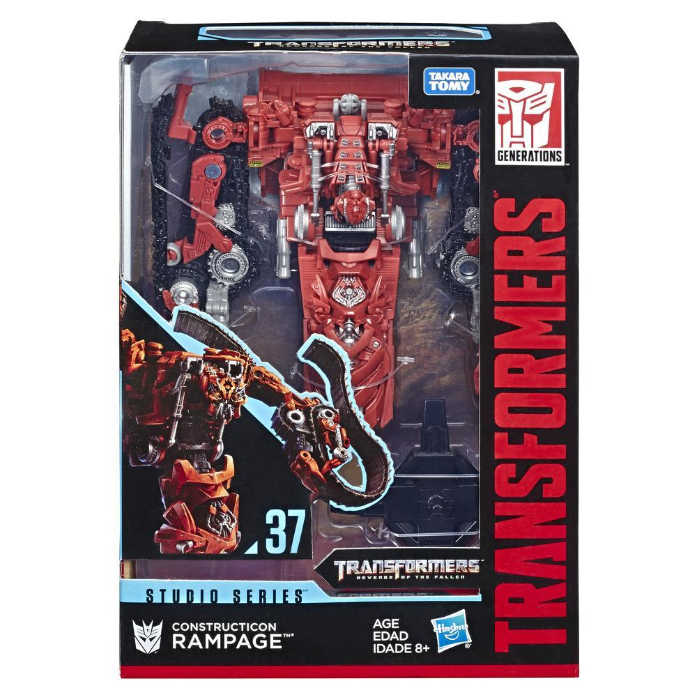 TRANSFORMERS TOYS STUDIO SERIES 37 VOYAGER CLASS CONSTRUCTICON RAMPAGE ACTION FIGURE