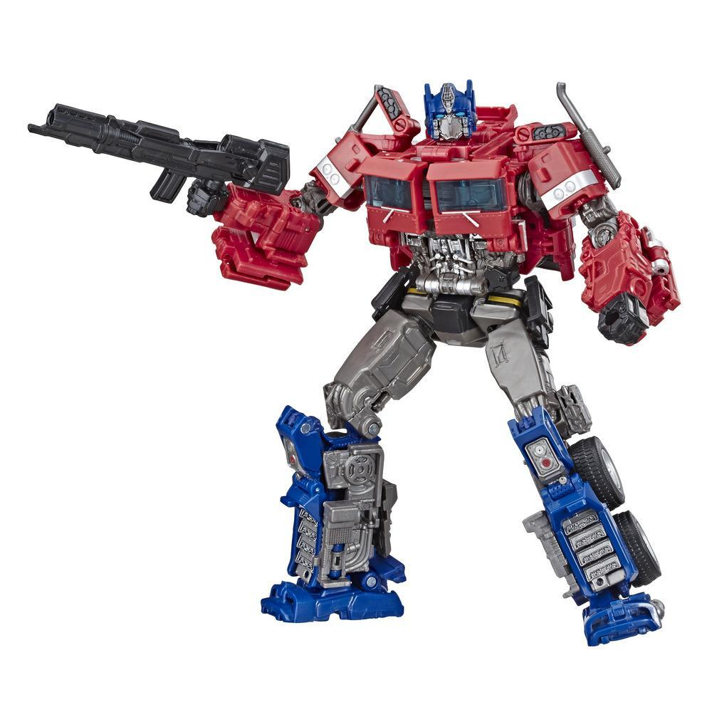 TRANSFORMERS TOYS STUDIO SERIES 38 VOYAGER CLASS TRANSFORMERS: BUMBLEBEE MOVIE OPTIMUS PRIME ACTION FIGURE - AGES 8 AND UP