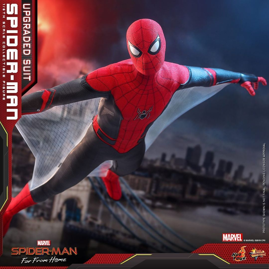 Hot Toys Spider-Man Far From Home (Upgraded Suit) 1/6th Scale Figure