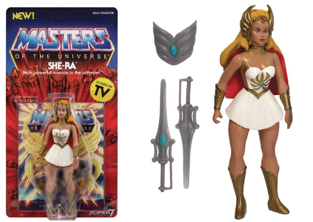Super7 Masters of The Universe Vintage She-Ra Figure