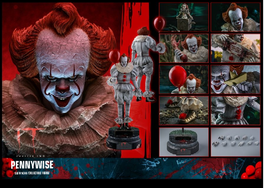 Hot Toys IT Chapter Two: Pennywise 1/6 scale figure MMS555