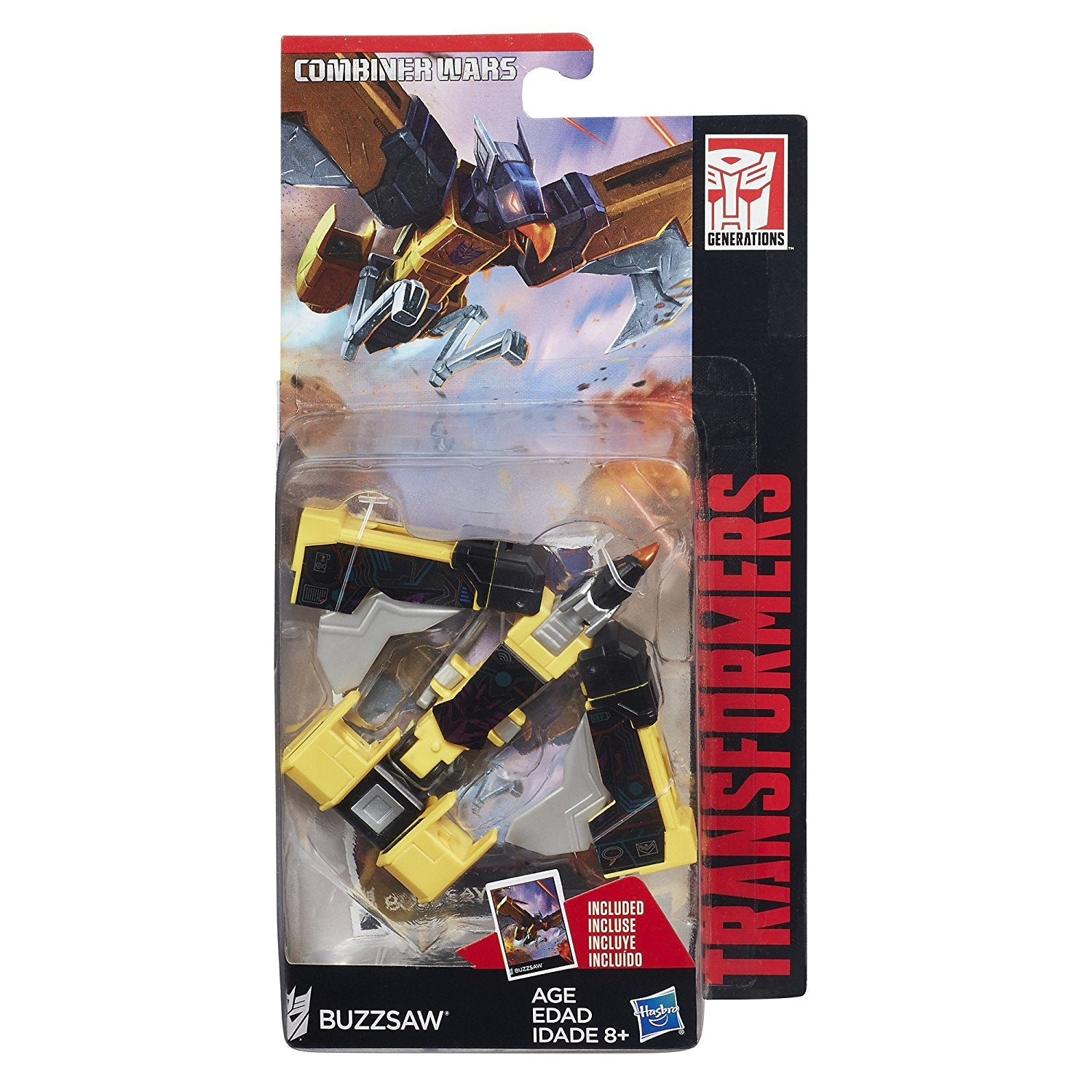 Hasbro - Buzzsaw Transformers Combiner Wars Legends Wave 5