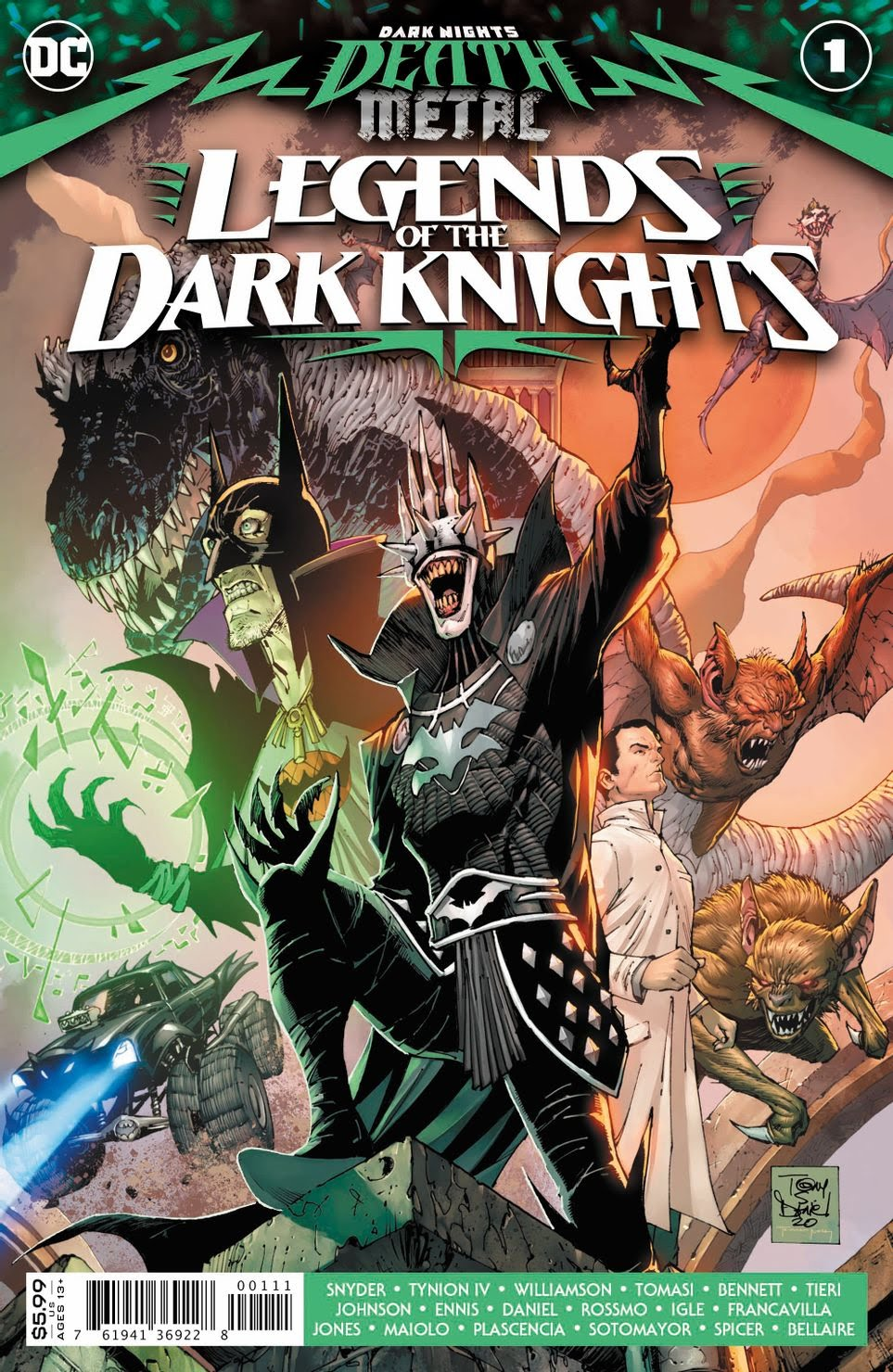 Dark knights death metal: Legends of the Dark Nights 1