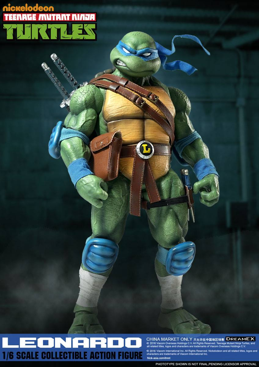 DreamEx Teenage Mutant Ninja Turtles; Leonardo sixth scale figure;