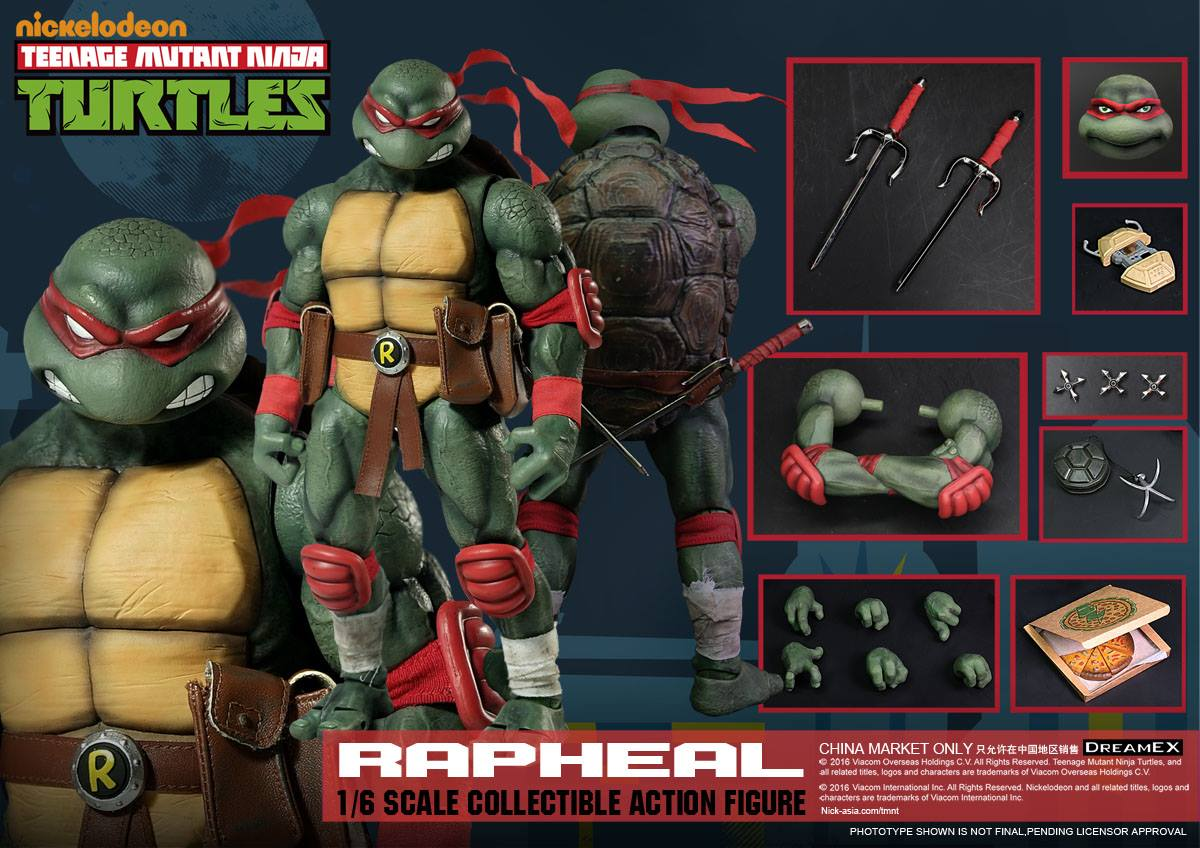 DreamEX Teenage Mutant Ninja TurtlenRaphael sixth scale figure