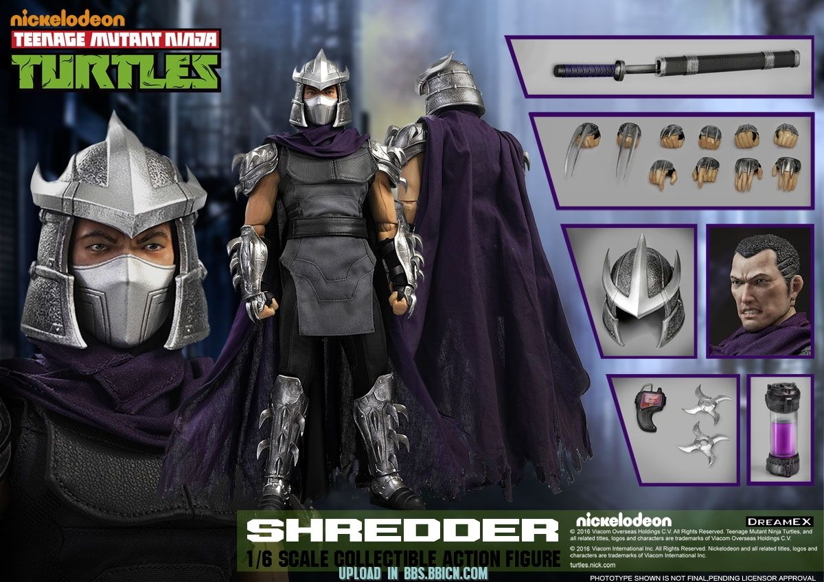 DreamEx TMNT Shredder sixth scale figure