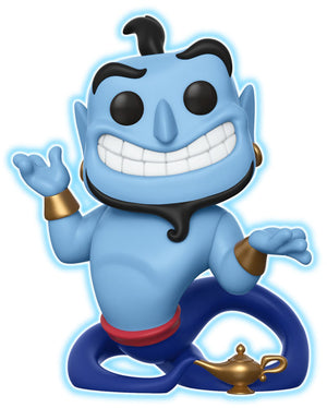 Funko POP! Disney Aladdin #476 Genie With Lamp - Glow In The Dark