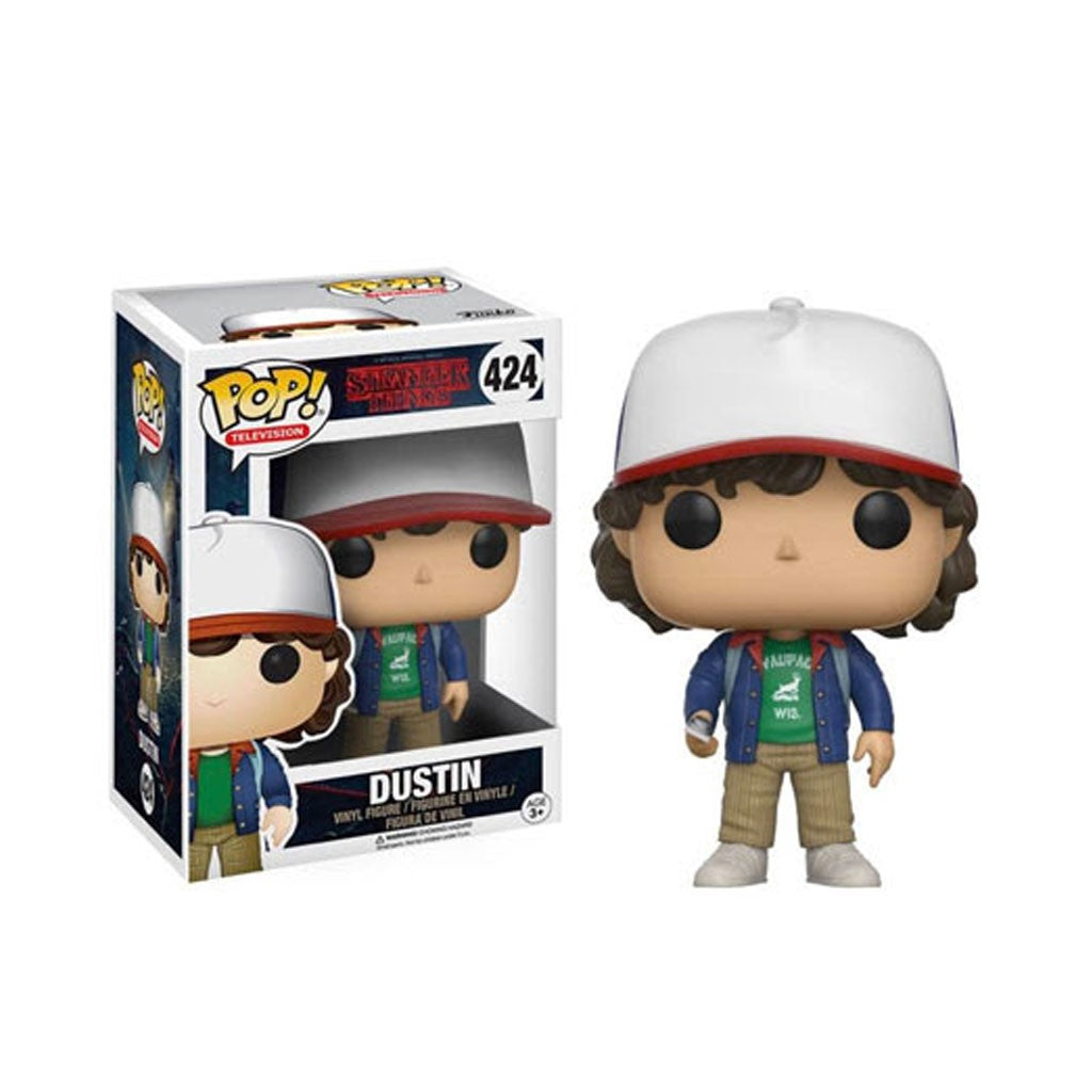Funko POP! Stranger Things Television - Dustin