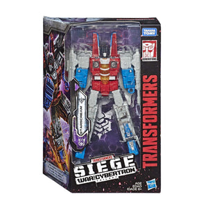 Transformers Generations War for Cybertron: Siege Voyager WFC-S24 Starscream Figure