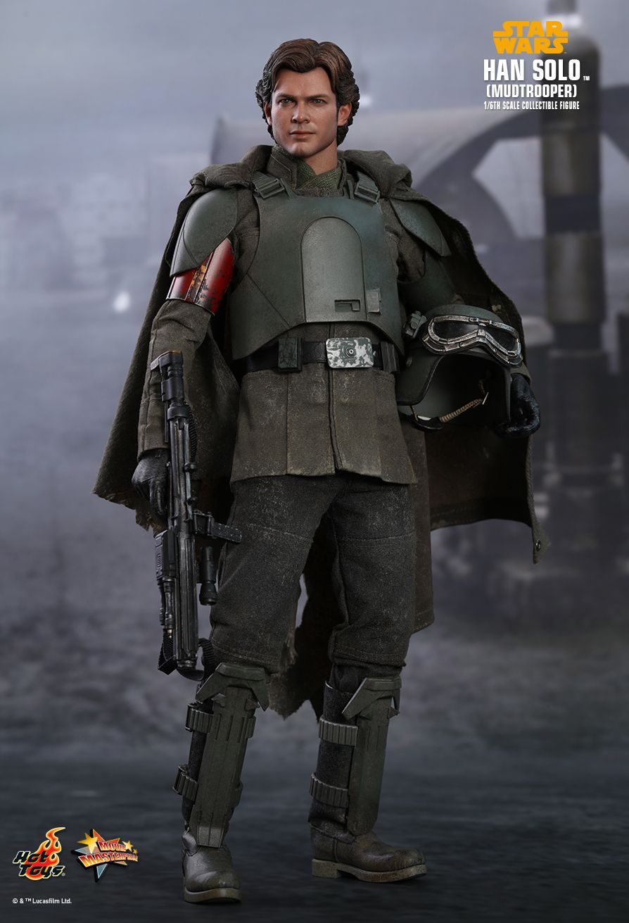 Hot Toys Star Wars Han Solo Mudtrooper sixth scale figure