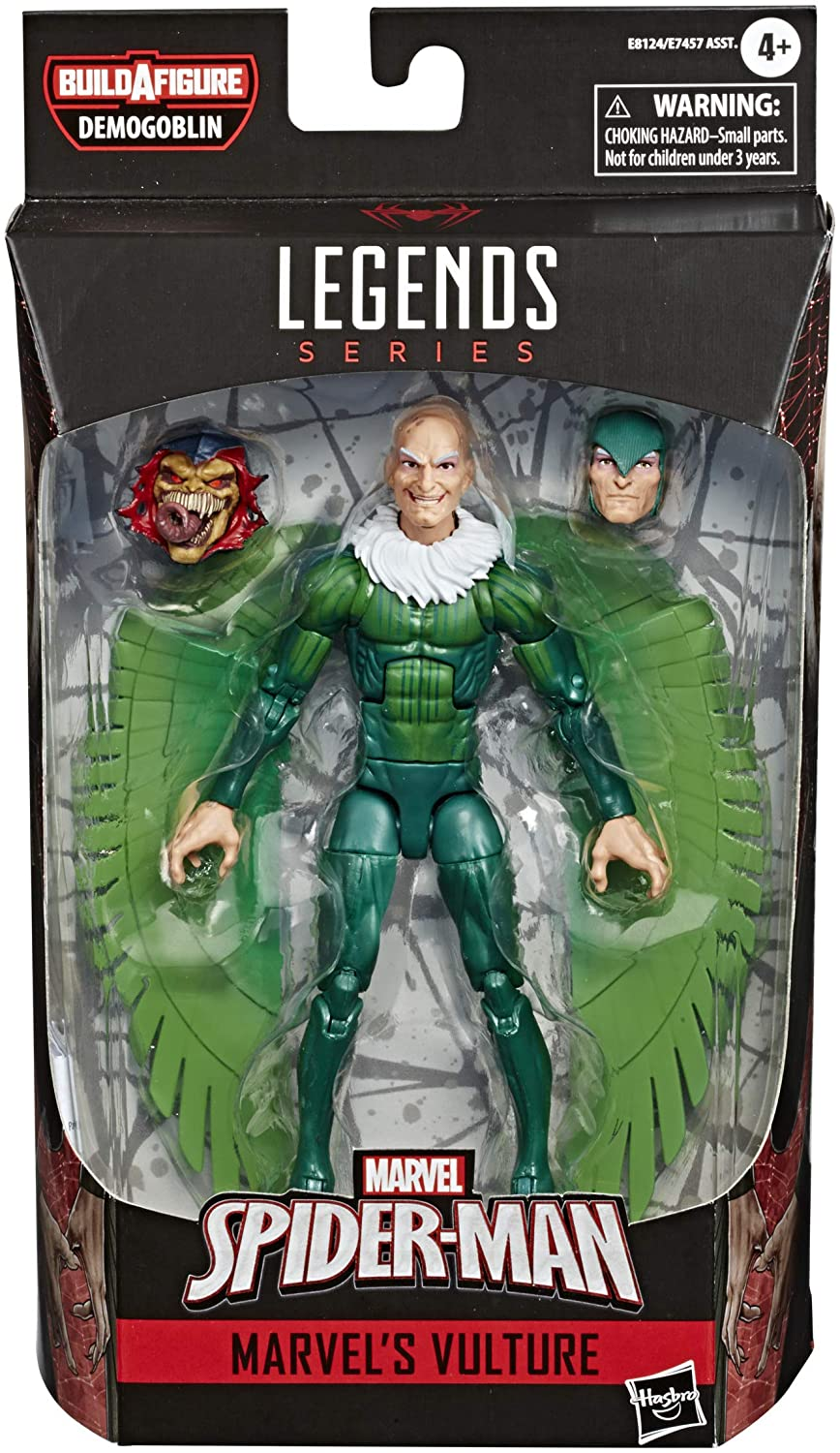 "Hasbro Marvel Legends  Spider-Man - The Vulture 6"" figures"