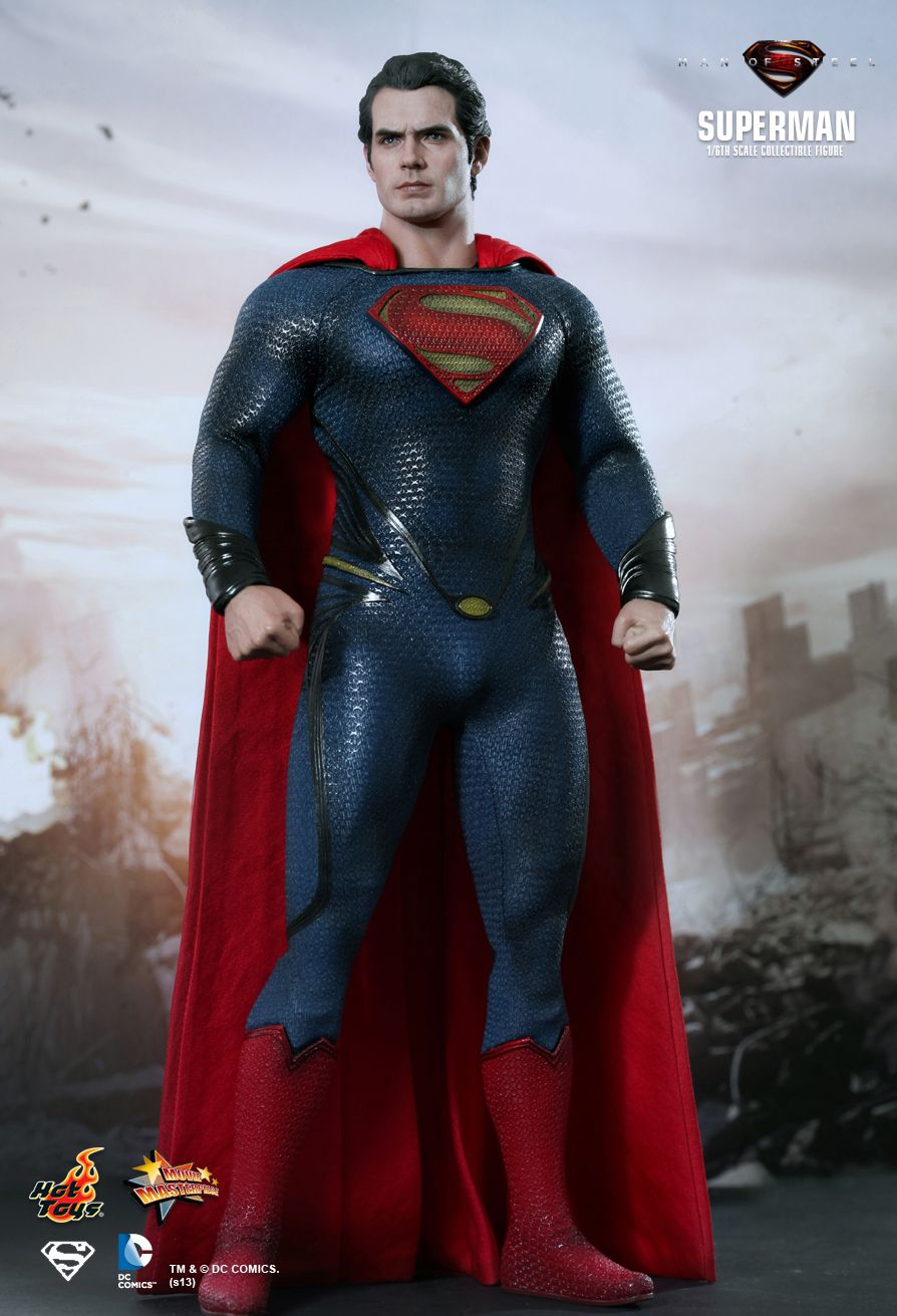 Hot Toys Superman : Man of Steel MMS 200