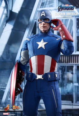 Hot Toys AVENGERS: ENDGAME  CAPTAIN AMERICA (2012 VERSION)1/6TH SCALE MMS563