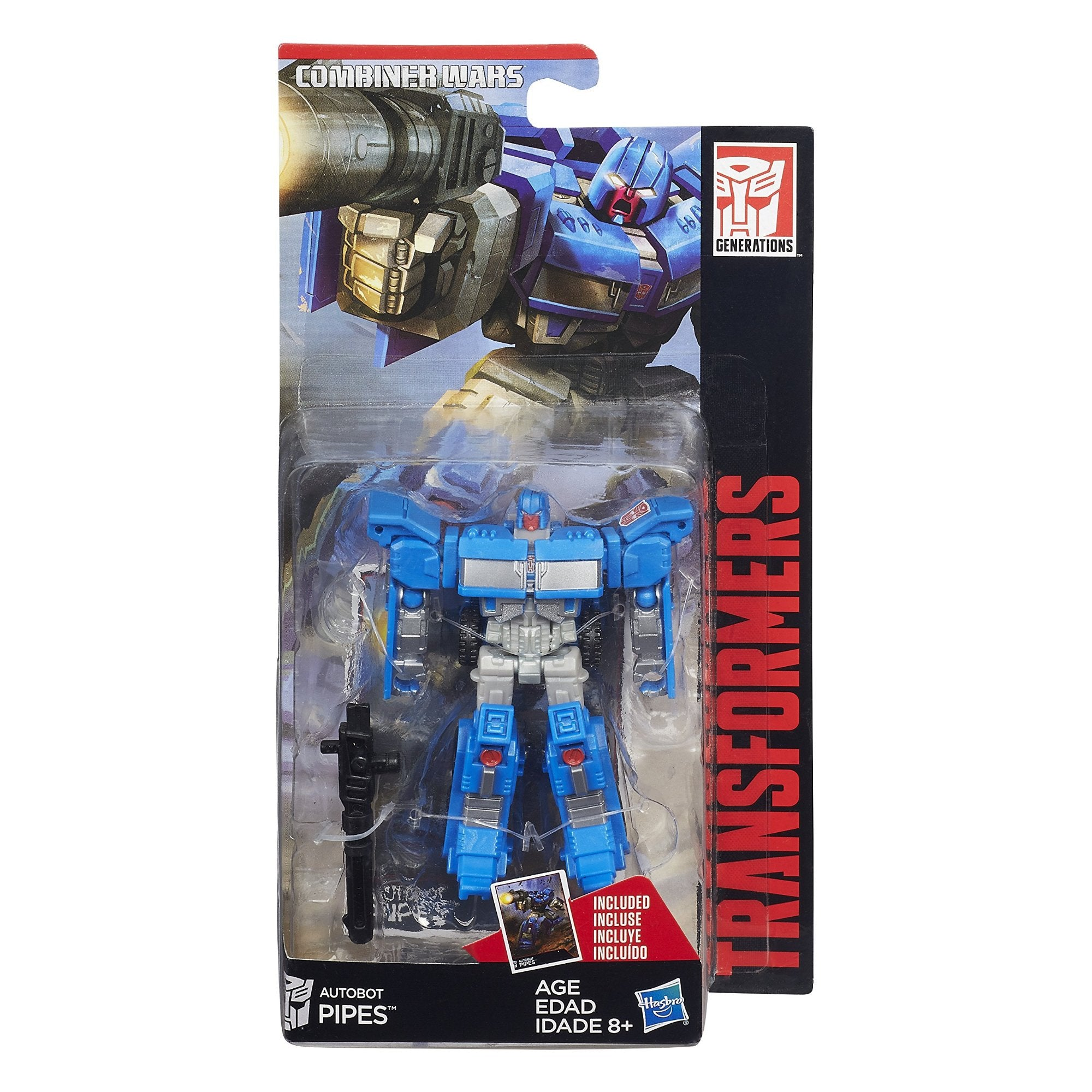 Hasbro Transformers Combiner Wars Legends Wave 5 - Pipes