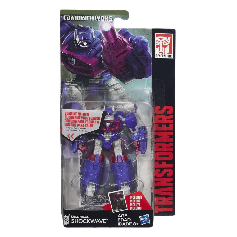 Hasbro Transformers acombiner wars Shockwave