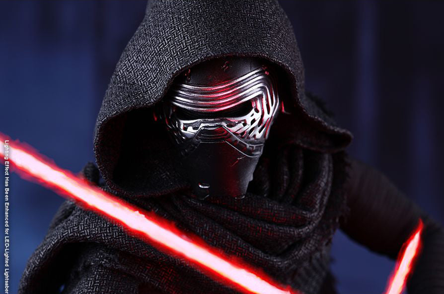 Hot Toys : Star wars Force Awakens - Kylo Ren sixth scale figure