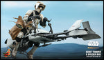Hot Toys Scout Trooper and Speeder Bike sixth scale Collectible Set