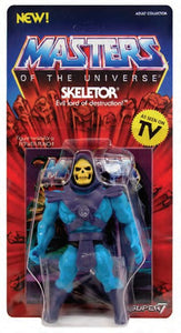 Super7 Masters of The Universe Vintage Skeletor Figure
