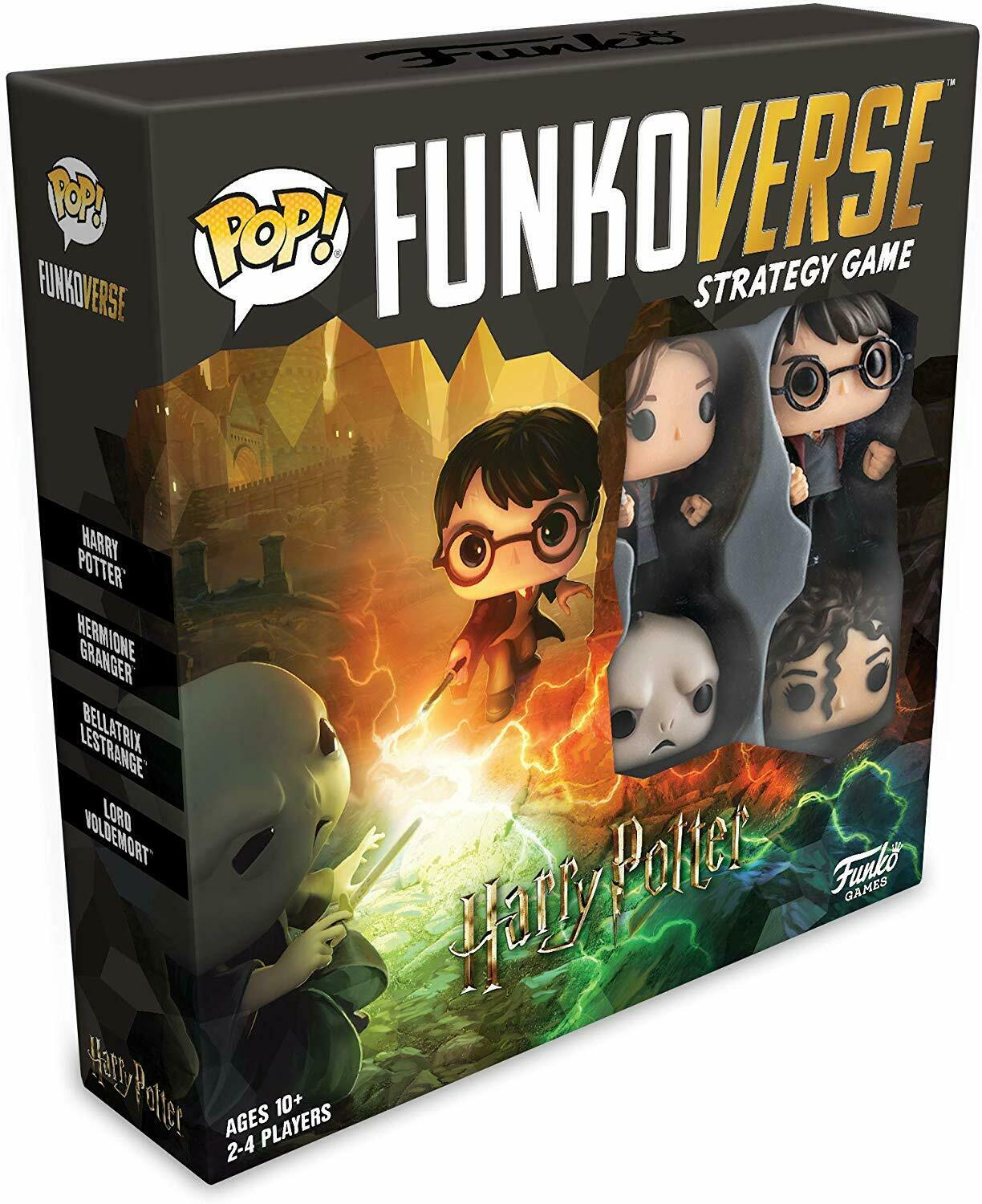 Harry Potter Pop! Funkoverse Strategy Game 4-Pack