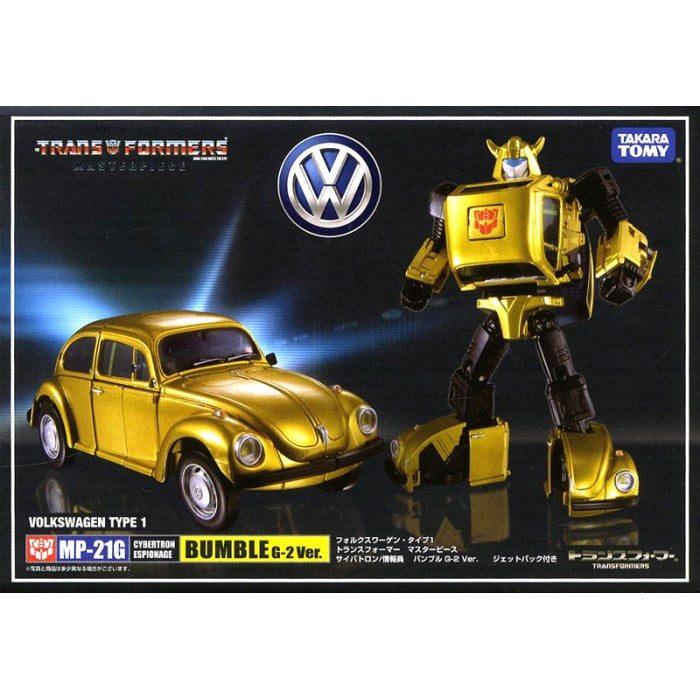 Takara Tomy Masterpiece MP-21G BumbleBee figure