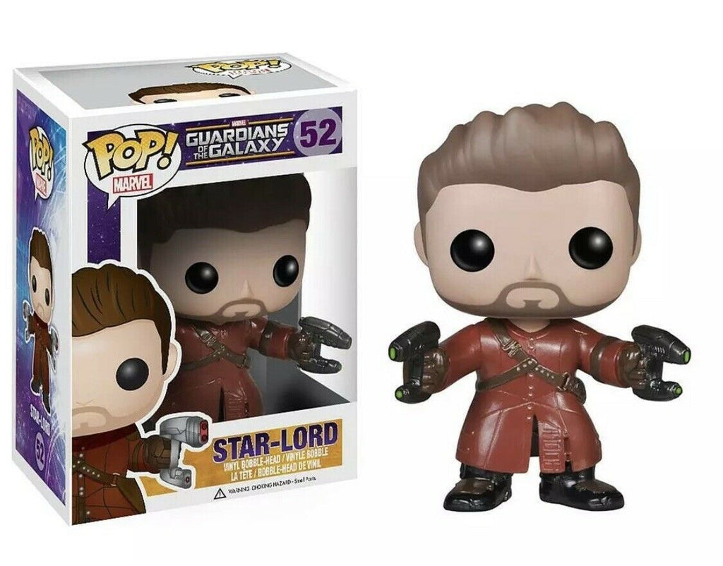 FUNKO POP Marvel GUARDIANS STAR LORD #52