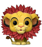 Funko Pop The Lion King Simba Leaf Mane Flocked