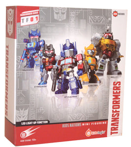 Transformers - Kids Logic TF01 set of 5 mini figures
