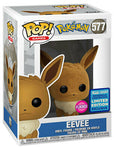 FUNKO Pop! Wondercon 2020 Eevee flocked #577