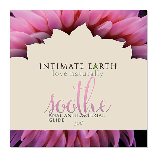 Anal glidmedelsfolie Soothe 3 ml Intimate Earth 6530